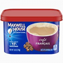 Deals List: Maxwell House International Cafe Francais Instant Coffee (7.6 oz Canisters, Pack of 4)