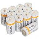 Deals List: AmazonBasics C Cell Everyday 1.5 Volt Alkaline Batteries - Pack of 12