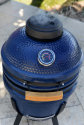 """Deals List: Lifesmart Deen Brothers Series 15"""" Blue Kamado Ceramic Grill Value Bundle Includes Electric Starter Cooking Stone and Cover"""