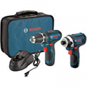 Deals List: Bosch 12V Max 2-Tool Lithium-Ion Cordless Kit CLPK22-120