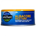 Deals List: Wild Planet Albacore Wild Tuna, Sea Salt, Keto and Paleo, 3rd Party Mercury Tested, 5 Ounce (Pack of 12)