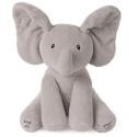 "Deals List: GUND Baby Animated Flappy The Elephant Stuffed Animal Plush, Gray, 12"""