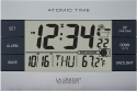 Deals List: La Crosse Technology 617-1280 Atomic Digital Alarm Clock, Silver