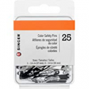 Deals List: SINGER 00296 Black and White Safety Pins, Assorted Sizes, 25-Count