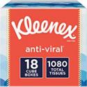Deals List: Kleenex Anti-Viral Facial Tissues, 18 Cube Boxes, 60 Tissues per Box (1,080 Tissues Total)