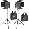 Deals List: Neewer 2 Pieces Bi-color 660 LED Video Light and Stand Kit
