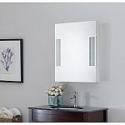 "Deals List: Glacier Bay 20"" x 26"" Surface Mount Medicine Cabinet with LED"
