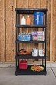 Deals List: Keter 5-Shelf Heavy Duty Utility Freestanding Ventilated Shelving Unit Storage Rack, Black