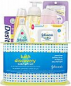 Deals List: Johnson's Bath Discovery Baby Gift Set, Baby Bath Time Essentials for Parents-to-Be, 7 Items