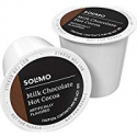 Deals List: Amazon Brand - 24 Ct. Solimo Hot Cocoa Pods, Milk Chocolate Flavored, Compatible with 2.0 K-Cup Brewers