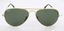 Deals List: Ray-Ban Aviator Classic Sunglasses Polarized RB3025 004/58