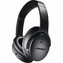 Deals List: Bose QuietComfort 35 Series II Noise Cancelling Headphones (Black or Silver)