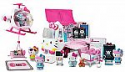 Deals List: Jada Hello Kitty Rescue Set with Emergency Helicopter & Ambulance Playset, Figures & Accessories, Pink & White