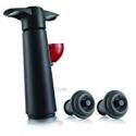 Deals List: The Original Vacu Vin Wine Saver with 2 Vacuum Stoppers – Black