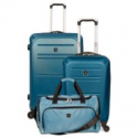 Deals List: Kenneth Cole Reaction South Street 3-Pc. Spinner Luggage Set