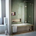 Deals List: DreamLine Aqua 48 in. W x 58 in. H Frameless Hinged Tub Door