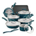 Deals List: Kohls Cardholders: Rachael Ray 13-pc. Aluminum Nonstick Cookware Set + $10 Kohls Cash