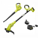 Deals List: Ryobi ONE+ 18-Volt Trimmer/Edger and Blower/Sweeper Combo Kit