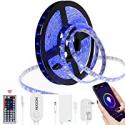 Deals List: Hugoai Smart WiFi LED Strip Lights 16.4-ft HLT-350