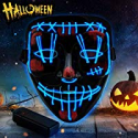 Deals List: YXwin Purge Mask Light up LED Halloween Mask for Adults