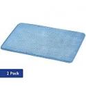 Deals List: AmazonBasics Textured Memory Foam Bath Mat - Pack of 2, Small, Blue