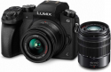 Deals List: PANASONIC LUMIX G7 4K Digital Mirrorless Camera Bundle with LUMIX G Vario 14-42mm and 45-150mm Lenses, 16MP, 3-Inch Touch LCD, DMC-G7WK (USA Black)