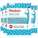 Deals List: Plackers Twin-Line Dental Floss Picks, 150 Count (Pack of 4)