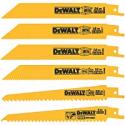Deals List: DEWALT Reciprocating Saw Blades, Metal/Wood Cutting Set, 6-Piece (DW4856)
