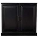 Deals List: Home Decorators Collection Jamison Black Bar w/ Storage