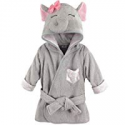 Deals List: Hudson Baby Animal Face Hooded Bathrobe, Pretty Elephant, 0-9 Months