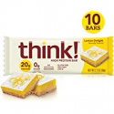 Deals List: Think High Protein Bars Lemon Delight 10 Count