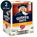 Deals List: 2-Pack Quaker Old Fashioned Rolled Oats 64oz 90 Servings