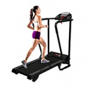Deals List: Pinty Electric Folding Treadmill w/Cup & Ipad Holder, Handles