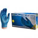 Deals List: 100-Pack GlovePlus Industrial Blue Vinyl Gloves