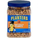 Deals List: Planters Dry Honey Roasted Peanuts, 34.5 Ounce, Pack of 2