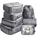 Deals List: Vagreez 7-Piece Travel Luggage Organizer Packing Cubes