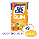 Deals List: Tic Tac Gum, Sugar Free Chewing Gum, Cool Tropical, 12 Count