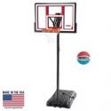 Deals List: Lifetime Adjustable Portable Basketball Hoop (Basketball Included), 90491