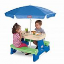Deals List: Little Tikes Easy Store Jr. Play Table with Umbrella