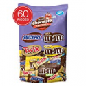 Deals List: Snickers M&MS & Twix Fun Size Candy Variety Mix 60 Pieces