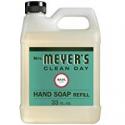 Deals List: Mrs. Meyer's Liquid Hand Soap Refill, Basil, 33 fl oz (Pack of 1)