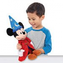 """Deals List: Mickey Mouse 90th Anniversary The Sorcerer's Apprentice 14"""" Musical Plush"""