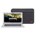 """Deals List: Acer Chromebook 14, Intel Atom x5-E8000 Quad-Core Processor, 14"""" HD, 4GB LPDDR3, 32GB eMMC, Protective Sleeve, CB3-431-12K1"""