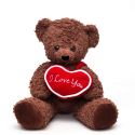 "Deals List: Bears For Humanity 16"" I Love You Bear, Brown"