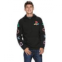 Deals List: Men's Playstation - Logo Black Hoodie