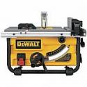 Deals List:  DEWALT DWE7480 10 in. Compact Job Site Table Saw