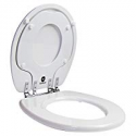 Deals List:  TOTO Eco Drake 2-Piece 1.28 GPF Single Flush Round Toilet in Cotton White