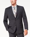 Deals List: Michael Kors Men's Classic-Fit Airsoft Stretch Solid Suit Jacket (Charcoal)
