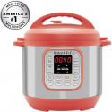 Deals List: Instant Pot Duo RED 60, 120V-60Hz, 7-in-1 Multi-Use Programmable Pressure, Slow, Rice Cooker, Steamer, Sauté, Yogurt Maker and Warmer, Stainless Steel- 6 Qt