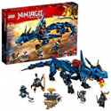 Deals List: LEGO NINJAGO Masters of Spinjitzu: Stormbringer 70652 Ninja Toy Building Kit with Blue Dragon Model for Kids, Best Playset Gift for Boys (493 Pieces)